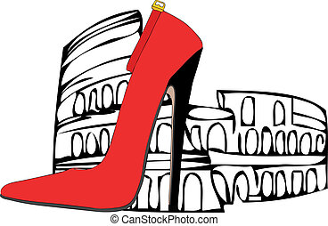 The shoes of Rome