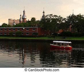 University of Tampa area - University of Tampa on the...