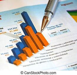 contabilidade, relatório
