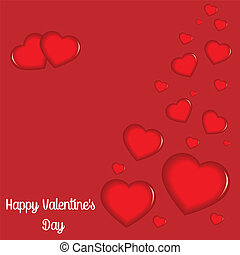 Happy Valentines day - bstracted, decoration set, backdrop,...