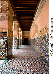The Ben Youssef Madrasa was an Islamic college in Marrakech...