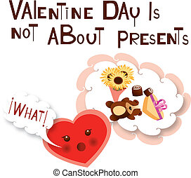 valentine day message - Is a EPS 10 Illustrator file without...