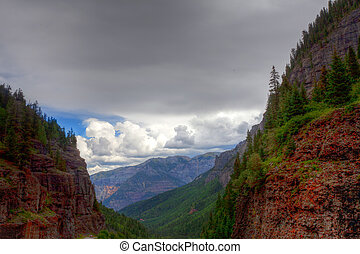 Colorado, Ouray - This image was captured outside of Ouray...