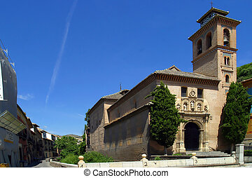 Chapel Granada Spain.