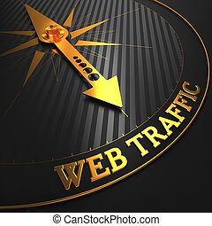 Web Traffic on Black and Golden Compass. - Web Traffic -...