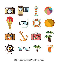 summer design over white background vector illustration...