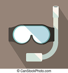 summer design over gray background vector illustration