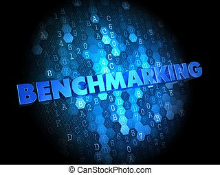 Benchmarking on Digital Background - Benchmarking - Blue...