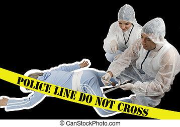 crimen, escena