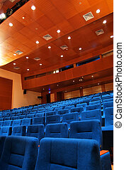 Movie Theater Seats - modern cinema and theater hall
