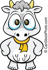 cartoon cow 03