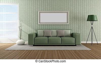 Elegant modern lounge