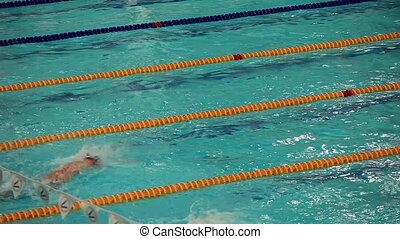 start competitive swimming