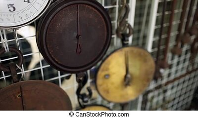 vintage scales - antique shops Antique Hanging Scale...