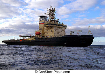 Russian icebreaker for your designs