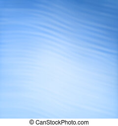 Abstract blue waves - background