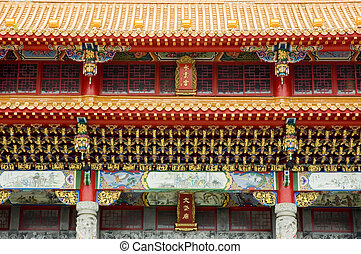 Taoism temple - Wen Wu Temple, Nantou, Taiwan, temple and...