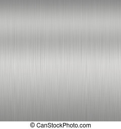 Shiny Brushed Steel Texture or background