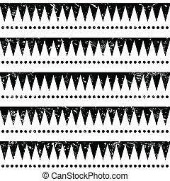 Seamless aztec tribal pattern - Vector seamless aztec...