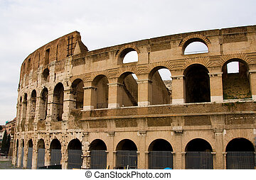 The colleseum, Rome, Italy.