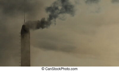smoke pipe - copious smoke coming from the boiler tube
