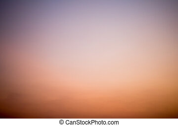 Colorful Twilight sky background