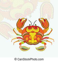 Scorpius Zodiac Sign - vector illustration of Scorpius...
