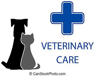 veterinary care symbol