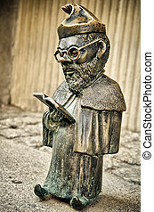 gnomo, estátua