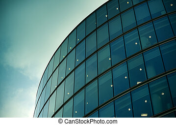Modern architecture in London - Modern office building in...