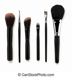 Makeup Brushes - Some different kind of make-up brushes...