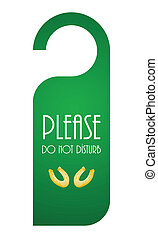 special door hanger for St Patricks Day