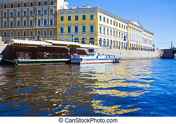 Saint Petersburg canal - Beautiful canal in Saint...