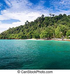 Kho Ngai island in Trang, Thailand