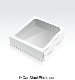 Vector Box with Transparent Window