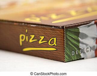 Take away pizza box - An image of a take away pizza box...