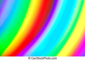 color spectrum blurry background