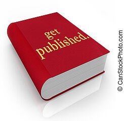 Get Published Book Cover Writing New Best Seller - A red...