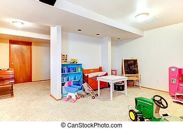 Great kids room with toys