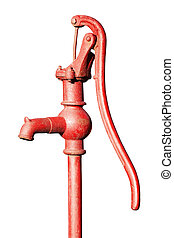 Water Pump - Hand pumps are used as a manually powered means...