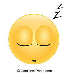 emoticon sleeping