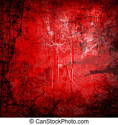 red abstract grunge background fine illustration