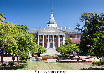 Maryland State Capitol Building, Annapolis