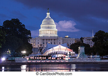 United States Capitol Building, DC - United States Capitol...