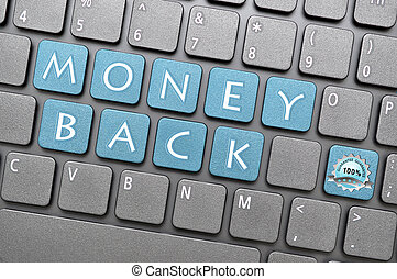 Money back guarantee on keyboard - Money back guarantee key...