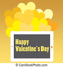 Valentines Day or Touch for Joy - Valentines Day Message on...