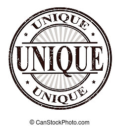 Unique stamp - Unique grunge rubber stamp vector...