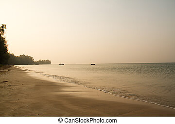 Chao Lao Beach Chantaburi,thailand