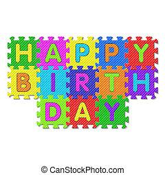 Happy Birthday puzzle - Happy Birthday