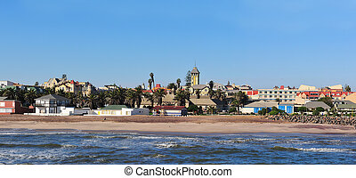 Swakopmund panorama 3 - Panorama from three photos taken...